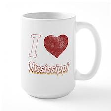 I Love Mississippi (Vintage) Mug
