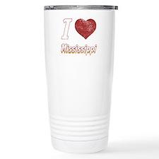 I Love Mississippi (Vintage) Travel Mug