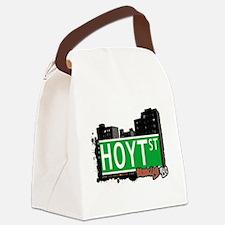 HOYT ST, BROOKLYN, NYC Canvas Lunch Bag
