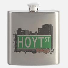 HOYT ST, BROOKLYN, NYC Flask