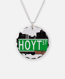 HOYT ST, BROOKLYN, NYC Necklace