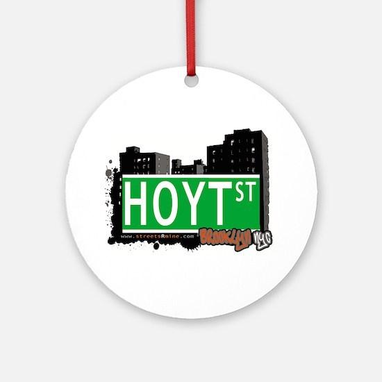 HOYT ST, BROOKLYN, NYC Ornament (Round)