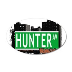 HUNTER AV, BROOKLYN, NYC Wall Decal