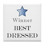 The Cat Walk Award - Tile Coaster