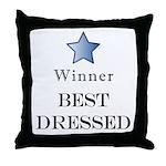 The Cat Walk Award - Throw Pillow