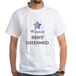 The Cat Walk Award - White T-Shirt