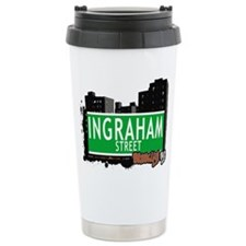 INGRAHAM STREET, BROOKLYN, NYC Travel Mug