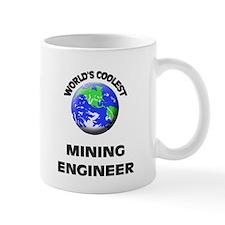 World's Coolest Mining Engineer Small Mug