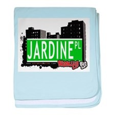JARDINE PL, BROOKLYN, NYC baby blanket
