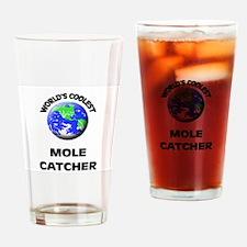 World's Coolest Mole Catcher Drinking Glass