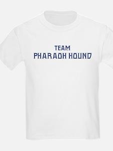 Team Pharaoh Hound Kids T-Shirt