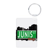 JUNIS ST, BROOKLYN, NYC Keychains