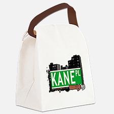 KANE PL, BROOKLYN, NYC Canvas Lunch Bag