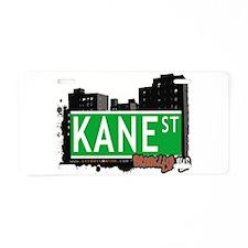 KANE ST, BROOKLYN, NYC Aluminum License Plate