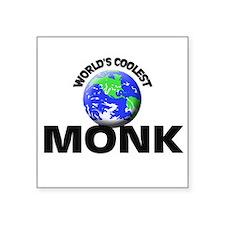 World's Coolest Monk Sticker
