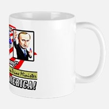 """Obama Is An Idiot!"" Mug"