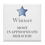 The Gotch'ya Award - Tile Coaster
