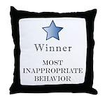 The Gotch'ya Award - Throw Pillow