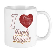 I Love North Dakota (Vintage) Mug
