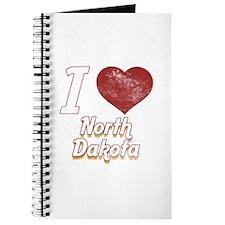 I Love North Dakota (Vintage) Journal