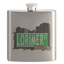 LORIMER ST, BROOKLYN, NYC Flask
