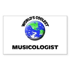 World's Coolest Musicologist Decal