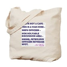 """Mrs Walley """"War Zone"""" Tote Bag"""