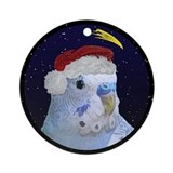 Blue budgies Ornaments