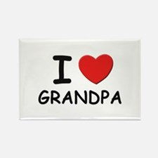 I love grandpa Rectangle Magnet