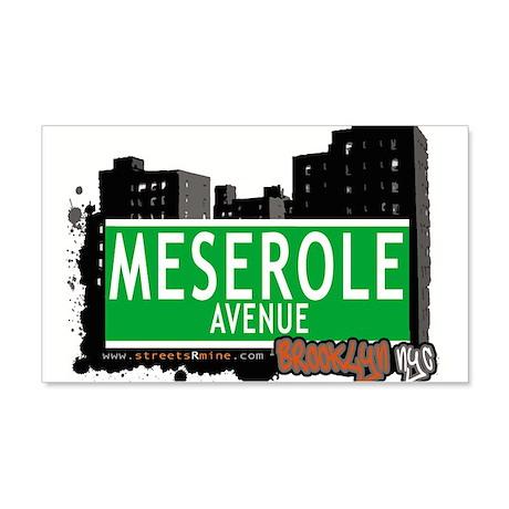 MESEROLE AVENUE, BROOKLYN, NYC 20x12 Wall Decal