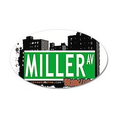 MILLER AV, BROOKLYN, NYC Wall Decal
