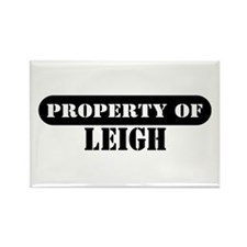 Property of Leigh Rectangle Magnet (10 pack)