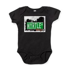 MYRTLE AV, BROOKLYN, NYC Baby Bodysuit