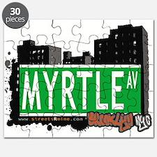 MYRTLE AV, BROOKLYN, NYC Puzzle