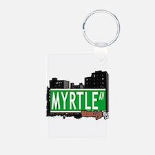 MYRTLE AV, BROOKLYN, NYC Keychains
