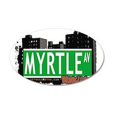 MYRTLE AV, BROOKLYN, NYC Wall Decal