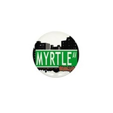 MYRTLE AV, BROOKLYN, NYC Mini Button (100 pack)