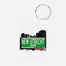NEW UTRECHT AVENUE, BROOKLYN, NYC Keychains
