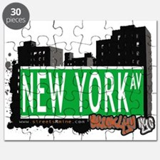 NEWYORK AV, BROOKLYN, NYC Puzzle