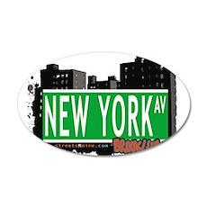 NEWYORK AV, BROOKLYN, NYC Wall Decal