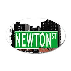 NEWTON ST, BROOKLYN, NYC Wall Decal