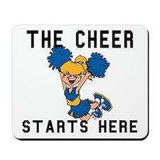 Cheerleader Mousepad