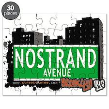 NOSTRAND AVENUE, BROOKLYN, NYC Puzzle