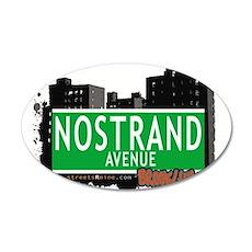 NOSTRAND AVENUE, BROOKLYN, NYC Wall Decal