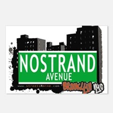 NOSTRAND AVENUE, BROOKLYN, NYC Postcards (Package