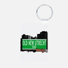 OLD NEW UTRECHT ROAD, BROOKLYN, NYC Keychains