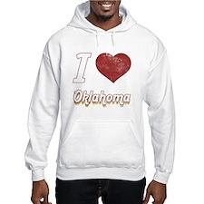 I Love Oklahoma (Vintage) Hoodie