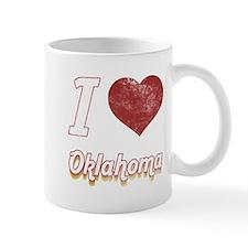I Love Oklahoma (Vintage) Mug