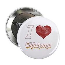 "I Love Oklahoma (Vintage) 2.25"" Button"