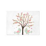 Cherry Blossom Tree 5'x7'Area Rug